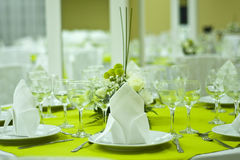 Beautiful table Royalty Free Stock Photography