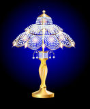 Beautiful table lamp Stock Images