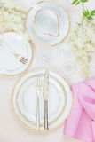 Beautiful table setting Royalty Free Stock Photography