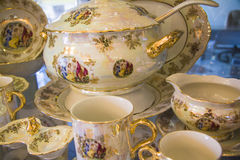 Beautiful  tableware Royalty Free Stock Photo