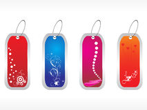Beautiful tags with love set Royalty Free Stock Photo
