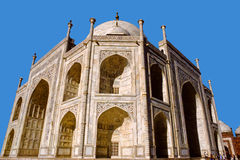Beautiful Taj Mahal, worlds most beautiful buildin Royalty Free Stock Photo