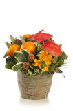 A beautiful, tall flower arrangement Royalty Free Stock Image