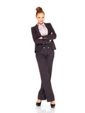 Beautiful tall smiling businesswoman Stock Photos