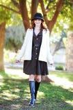 Beautiful tall woman Royalty Free Stock Photos
