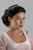 Beautiful tan woman posing Royalty Free Stock Photography