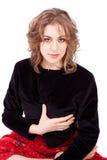Beautiful tango ballerina posing Stock Photos