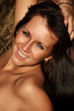 Beautiful Tanned Woman Royalty Free Stock Image