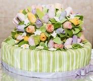 Beautiful tasty cake Royalty Free Stock Photography