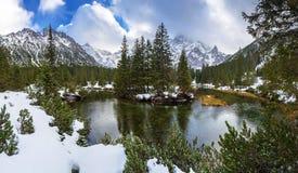 Beautiful Tatra mountains view at Fish Creek. Poland Stock Photography