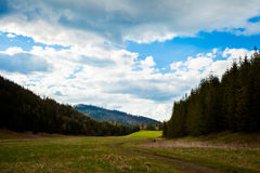Beautiful Tatry mountains valley landscape Royalty Free Stock Photography