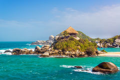 Beautiful Tayrona Beach Stock Photos