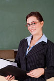 Beautiful teacher Royalty Free Stock Photography