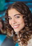 Beautiful Teacher Smiling In Classroom Stock Photos