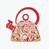 Beautiful teapot. Stock Photos