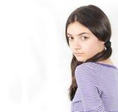 A beautiful teen stock photography