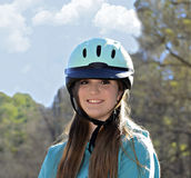 Beautiful Teen Equestrian Stock Image