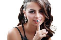 Beautiful teen gir Stock Photography
