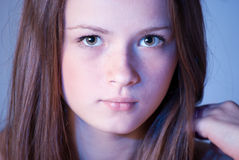 Beautiful teen girl Stock Image