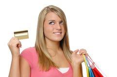 Beautiful teen girl Stock Images