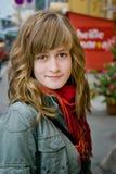 Beautiful teen girl stock photos