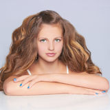 Beautiful teen girl Royalty Free Stock Image