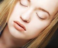 Beautiful teen girl, headshot Stock Photos