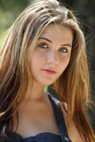 Beautiful Teen Girl Outdoors (2) Stock Photos