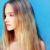 Beautiful teen girl. Portrait of a beautiful teen girl Stock Photography