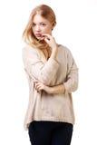 Beautiful teen girl portrait Stock Photography