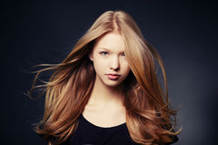 Beautiful teen girl portrait Stock Photo