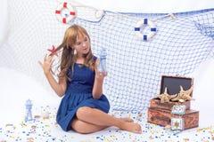Beautiful teen girl Stock Image