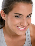 Beautiful Teen Girl In Workout Clothes Stock Photography