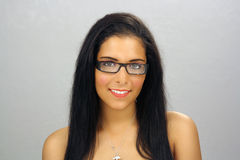 Beautiful Teen Latina Headshot (2) Stock Photo