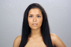 Beautiful Teen Latina Headshot (4) Stock Photography