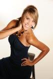 Beautiful teen model Royalty Free Stock Photography