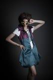 Beautiful teen model shoot in the studio Stock Photos