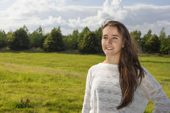 Beautiful teen portrait Royalty Free Stock Images