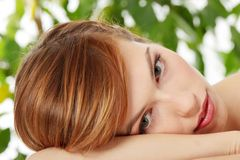 Beautiful teen woman Royalty Free Stock Photo