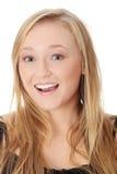Beautiful teen woman Stock Photos