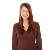 Beautiful teen woman Stock Photography
