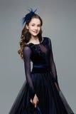 Beautiful teenage ballroom dancer Stock Photography