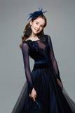 Beautiful teenage ballroom dancer Stock Image