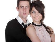 Beautiful Teenage Couple Royalty Free Stock Photo