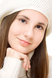 Beautiful teenage girl Stock Images