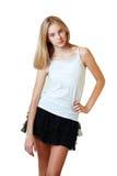 Beautiful teenage girl Stock Photo