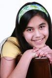 Beautiful teenage girl Stock Photos