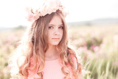 Free Beautiful Teenage Girl Outdoors Royalty Free Stock Photos - 77441348