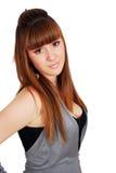 Beautiful teenage girl posing Stock Images