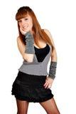 Beautiful teenage girl posing Stock Photo